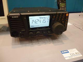 Alinco DX-R8 SDR soundcard receiver